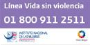 VIOLENCIA CONTRA LA MUJER Linea+vida+sin+violencia