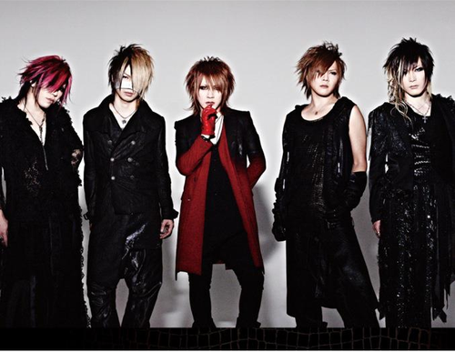 the GazettE The+GazettE+NEW+LOOK+2012