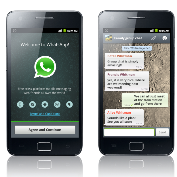 download whatsapp for samsung mobile phone