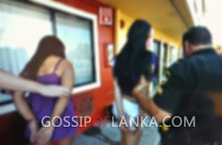5 prostitutes arrested in Malwathu Hiripitiya