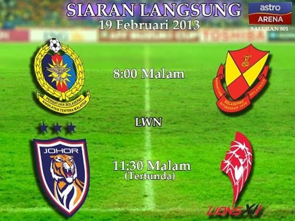 Live Streaming ATM vs Selangor 19 Februari 2013