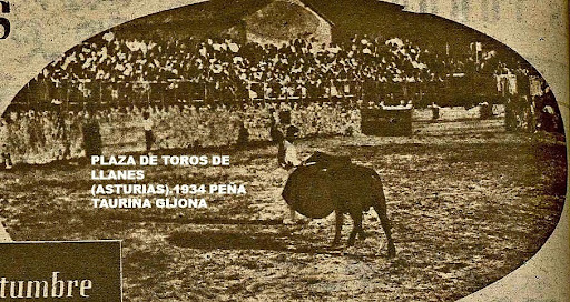 PLAZA DE TOROS DE LLANES 1934