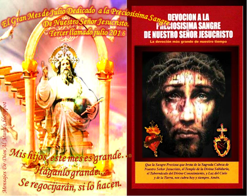 NOVENA DEL GRAN MES DE APRECIOSAE SANGRE
