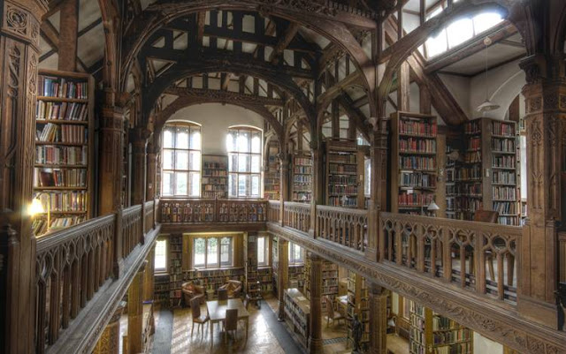 Library Room Book Derby University