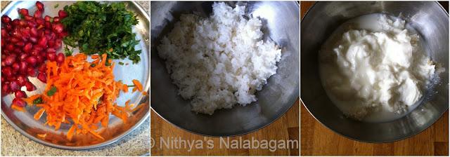 Curd Rice | Thayir Sadham 1