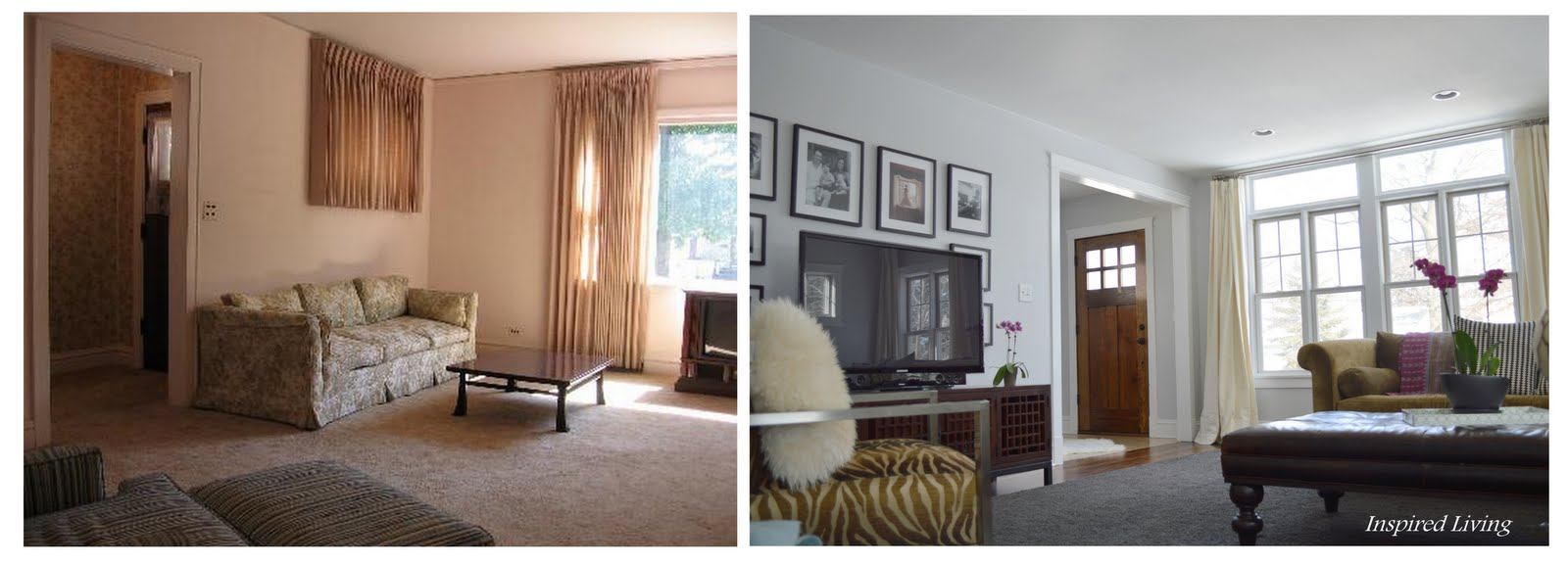 Inspired Living Living Room Before And Afters