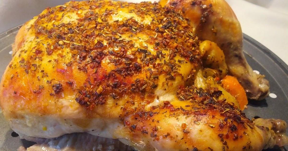 Four et fouets pour sara poulet entier pices picure - Cuisiner poulet entier ...