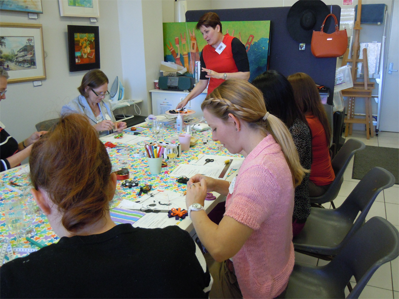 brisbane art and craft classes and parties for adults and