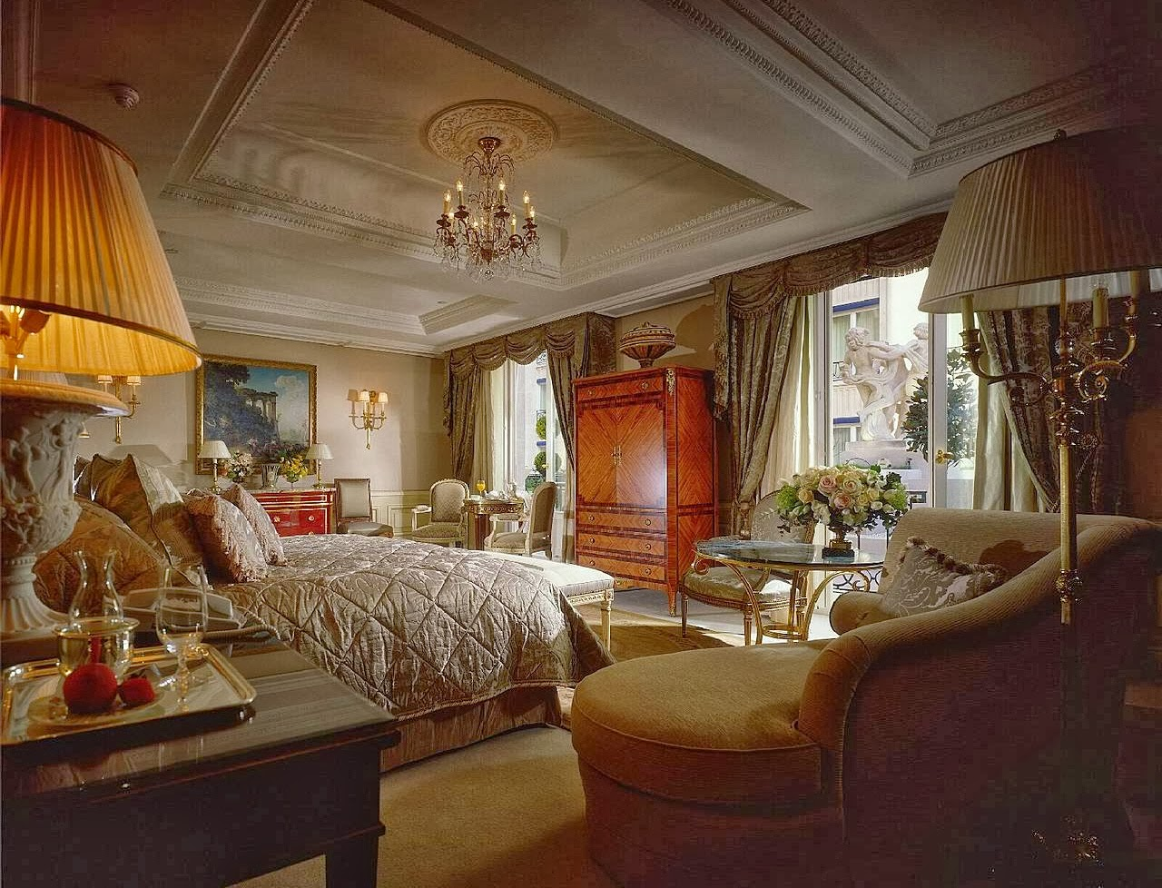 Interior Design Royal Bedroom Luxury Home Decoration And Interior