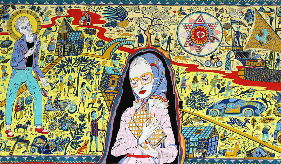 Tapestries Of Famous Paintings