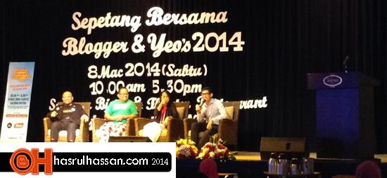 #sbb2014 - Sepetang Bersama Blogger dan Yeos 2014