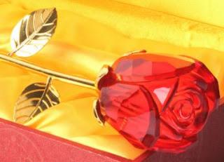 Regalos de San Valentin, Piezas de Vidrio