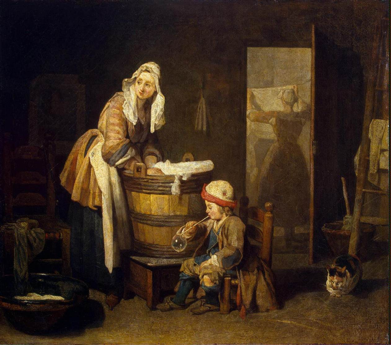 Colonial quills laundry day in the 18th century for 17th century french cuisine