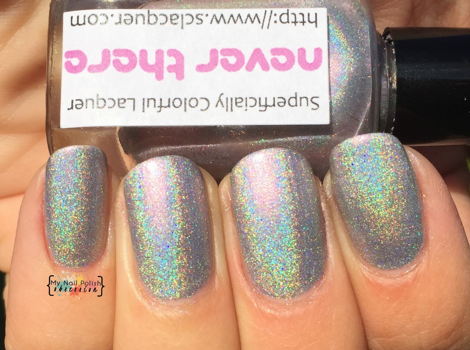 Superficially Colorful Lacquer Never There