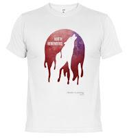 el norte recuerda camiseta - Juego de Tronos en los siete reinos