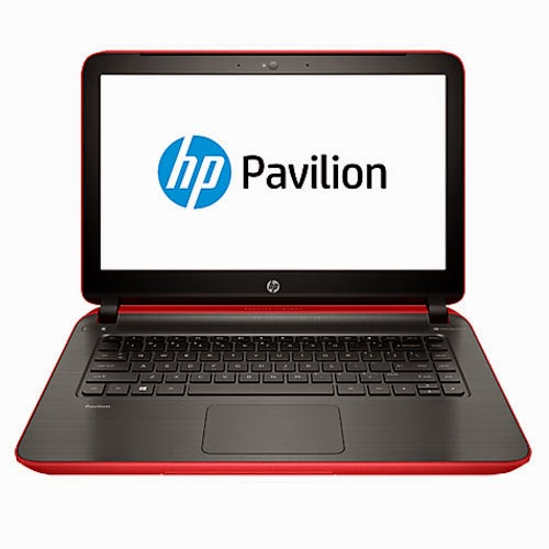 HP Pavilion 14z Touch vibrant red