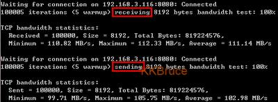 ping server提供TCP頻寬測試