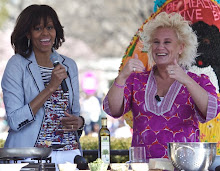 FLOTUS & Chef Anne Burrell Rock The Kids' Kitchen