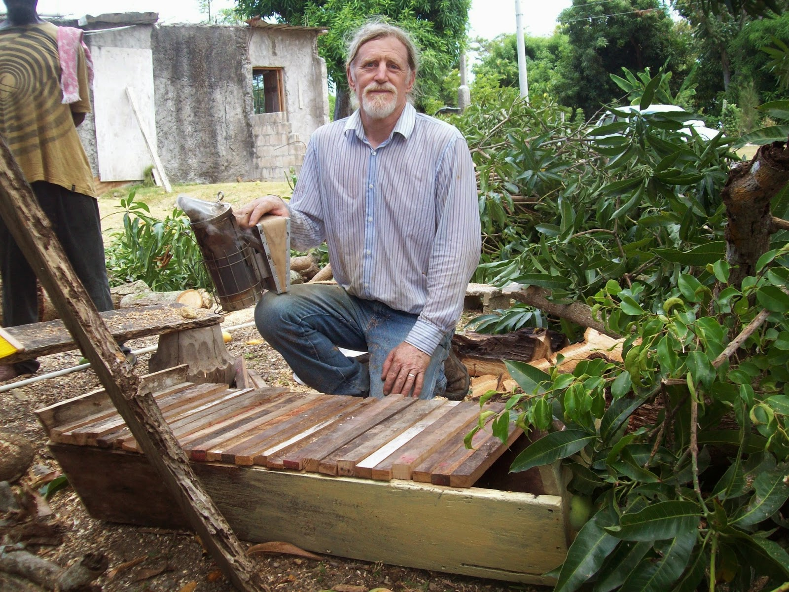 He Is The Author Of A Book, A Speaker At Conferences, And A Trainer Of  Beekeepers. Top Bar ...