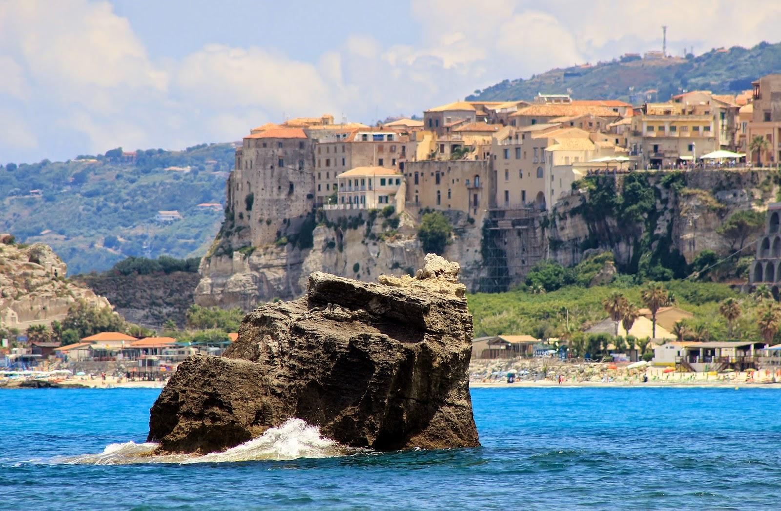 Plaża Riaci Kalabria Włochy
