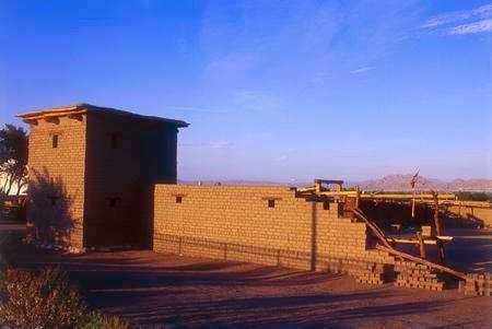 Old Las Vegas Mormon Fort, em Las Vegas