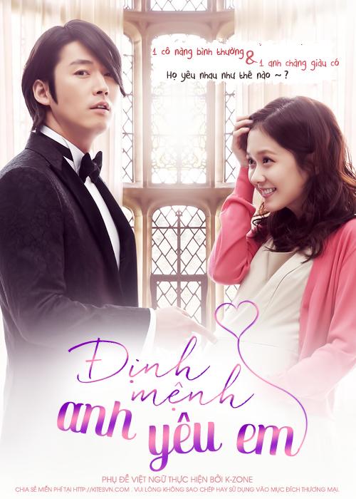 xem phim Định Mệnh Anh Yêu Em - Fated To Love You 2014 full hd vietsub online poster