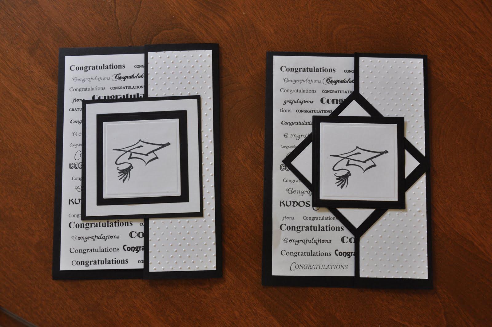 gina s creative chaos gate fold graduation cards