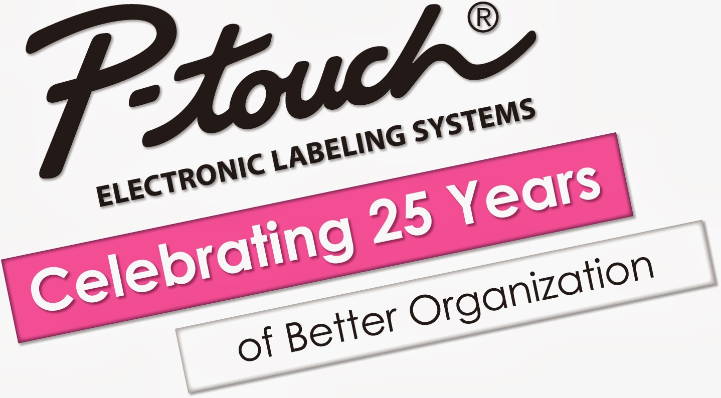 Celebrating 25 Years of Bettwe Organizatin #MC #Ptouch25