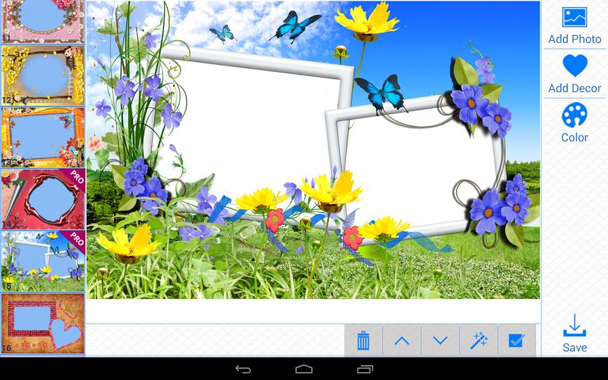 Aplikasi bingkai bingkai foto 39