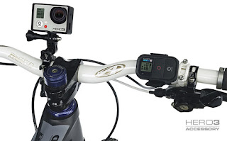 GoPro The Frame Mount on Bike Handlebar