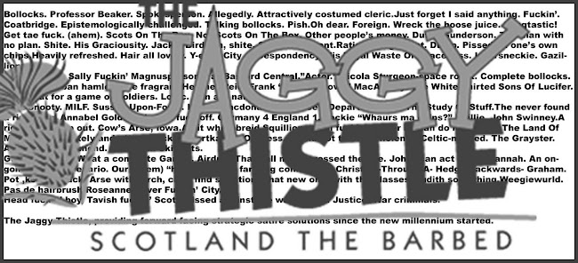 The Jaggy Thistle - Scotland the barbed