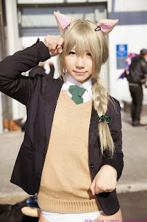 Strike Witches Lynette Bishop cosplay by Fuyutanshio