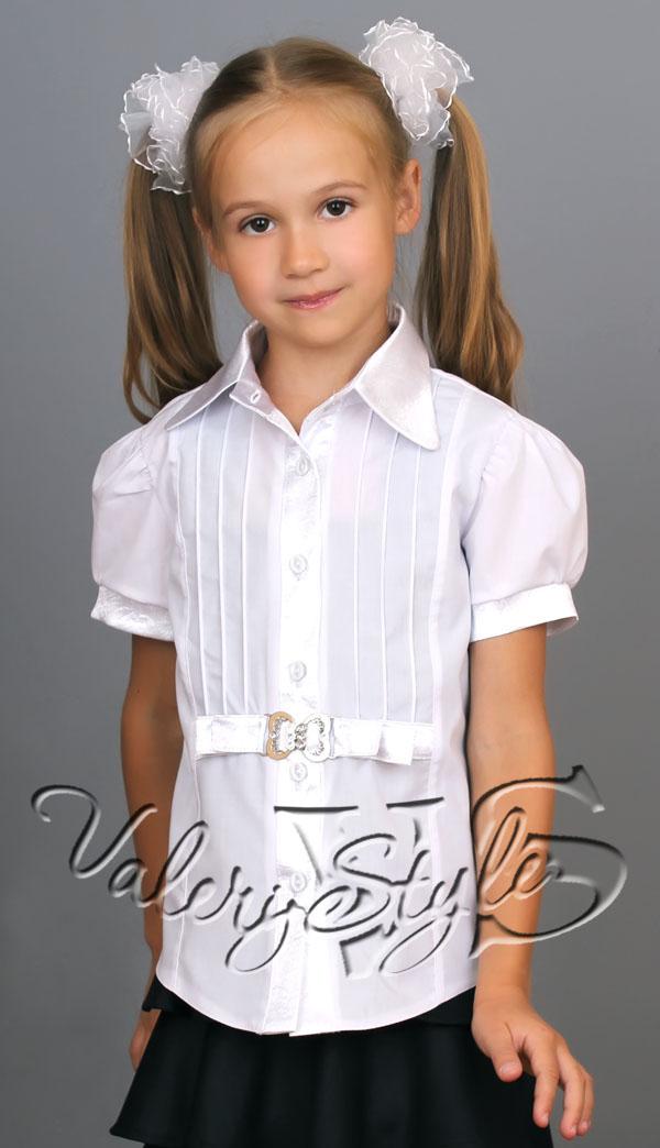 Белые Блузки Для Школы Оптом От Производителя