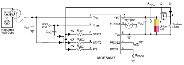 lithium ion battery charger circuit design  lithium ion