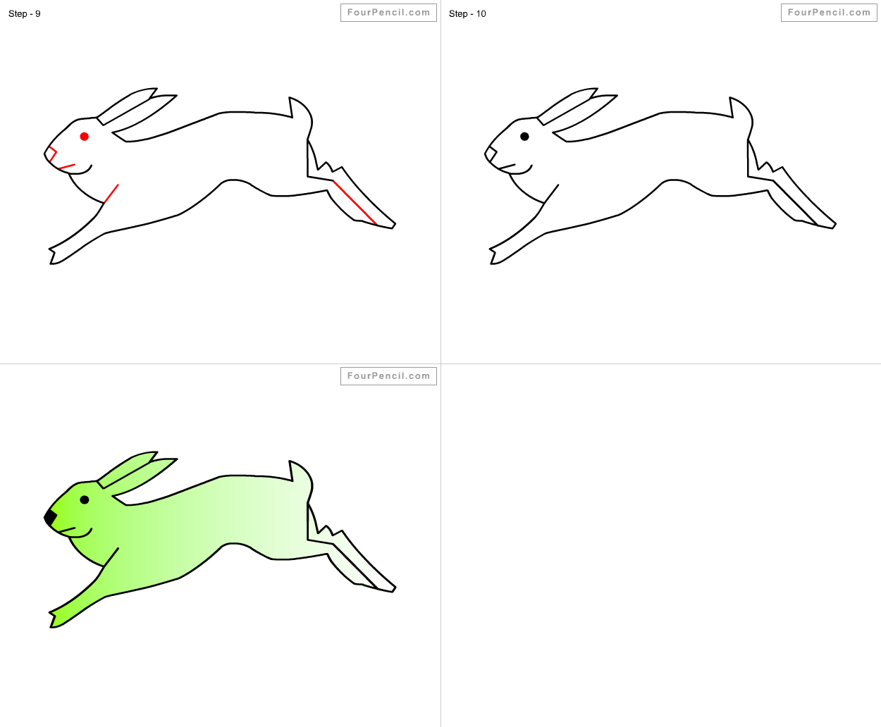 How To Draw Rabbit  Slide 2