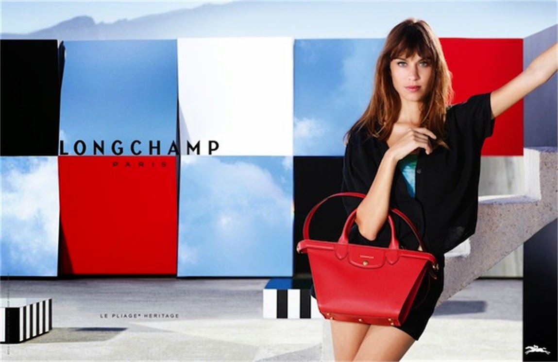 BTS with Alexa Chung for Longchamp Spring 15