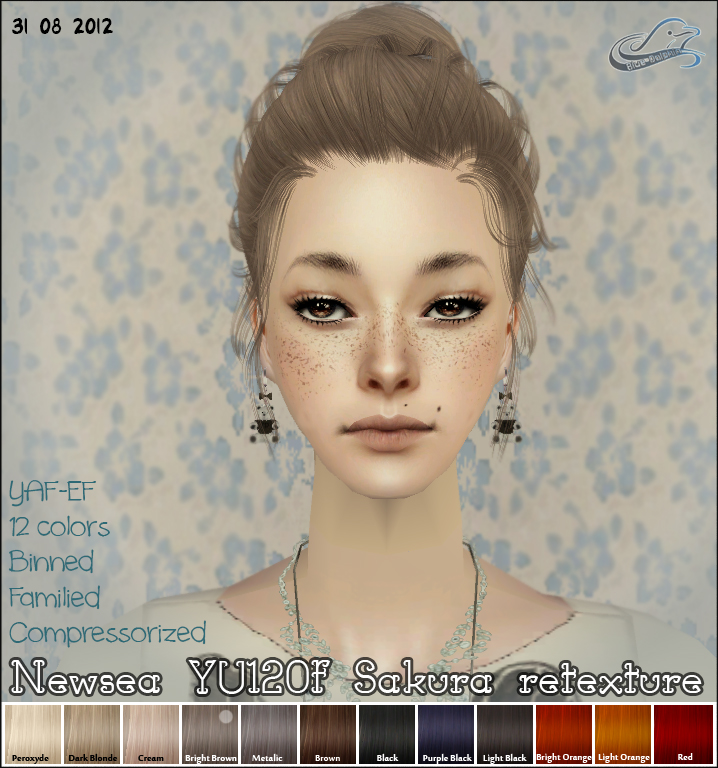 Прически для The Sims 2 .Женские - Страница 2 YU120f+01