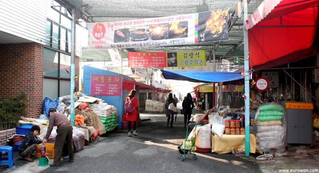 Mercado Bangcheon de Daegu
