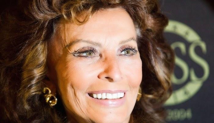 Sophia Loren 80 years old