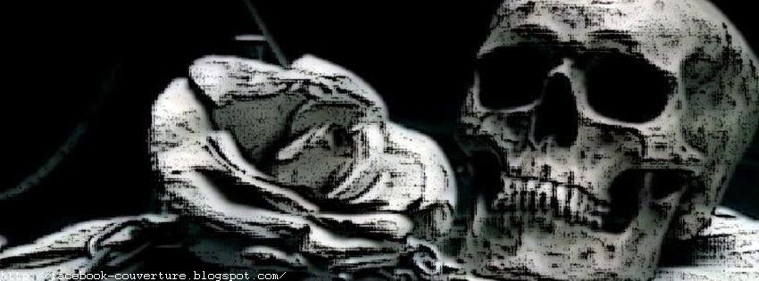 Une jolie photo couverture facebook mort
