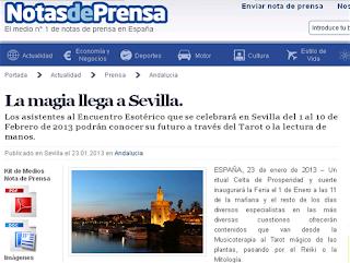 La magia llega a Sevilla. Encuentros Esotéricos Sevilla