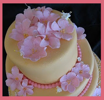 13 Tropical Flower Wedding Cakes Romantic