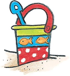 colored pictures to print beach buckets