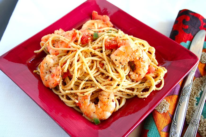 Mama Grubbs Grub Jalape 241 O Shrimp Pasta