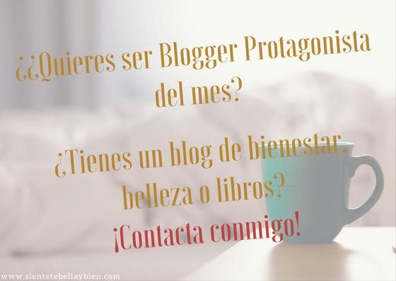 Blogger Protagonista del Mes