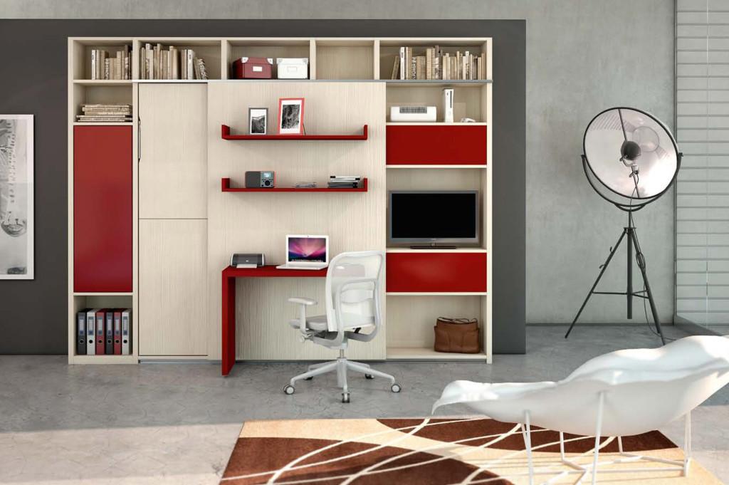 Ristrutturazioni case vivi in un monolocale alcuni for Libreria in camera da letto