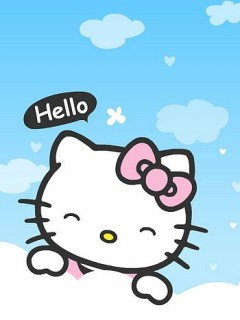 Hello Kitty iPhone wallpaper 240x320