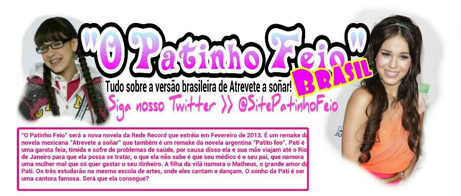O Patinho Feio (@SitePatinhoFeio)
