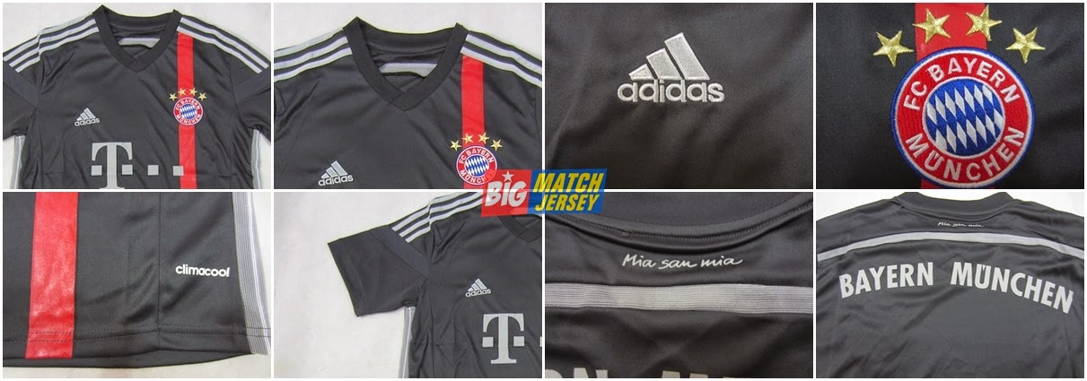 Detail Jual Jersey Bayern Munchen 3rd 14-15 GO - Toko Jersey Bola Grade Ori