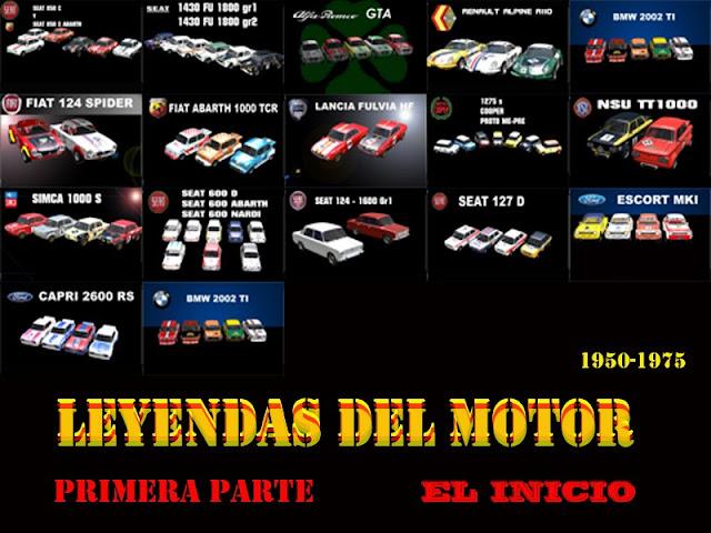 Leyendas del Motor 1.0 para rFactor